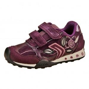 Dětská obuv GEOX J.N. Jocker G.C.  /prune - X...SLEVY  SLEVY  SLEVY...X