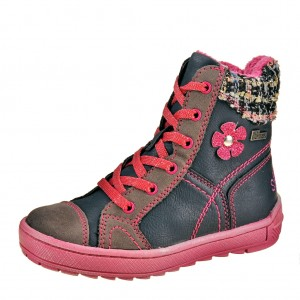 Dětská obuv s'Oliver 35212  /navy comb. - Boty a dětská obuv
