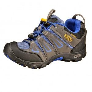 Dětská obuv KEEN Oakridge low WP  /magnet/true blue - X...SLEVY  SLEVY  SLEVY...X