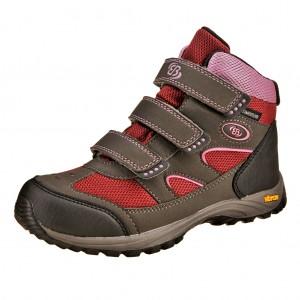 Dětská obuv Brütting Snowfun V   /bordeaux - Boty a dětská obuv