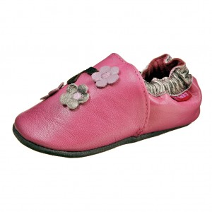 Dětská obuv Capáčky D.D.Step  /růžové - Boty a dětská obuv