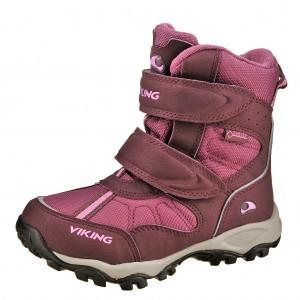 Dětská obuv VIKING Bluster II GTX   /aubergine/plum - Boty a dětská obuv