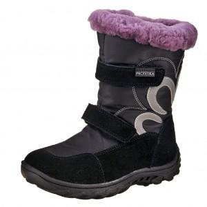 Dětská obuv Protetika Samara /black -  Zimní