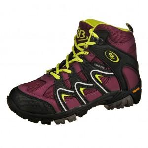 Dětská obuv Brütting Vision High   /bordeaux - Boty a dětská obuv