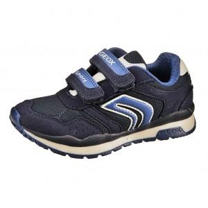 Dětská obuv GEOX J Pavel A   /navy - Boty a dětská obuv