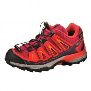 Dětská obuv Salomon X-Ultra GTX J  /Poppy red - Boty a dětská obuv