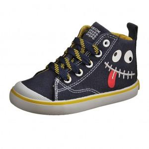Dětská obuv GEOX B Kiwi B   /navy/yellow - X...SLEVY  SLEVY  SLEVY...X