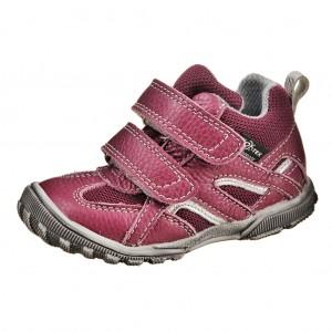 Dětská obuv DPK K59017/2W TEX  /vínová - Boty a dětská obuv