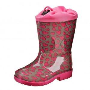 Dětská obuv Gumovky srdíčka - Gumovky