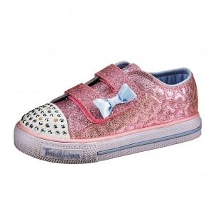 Dětská obuv Skechers S Lights  /pink - Boty a dětská obuv