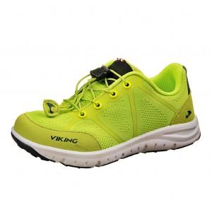 Dětská obuv VIKING Ulevaal  /lime - Boty a dětská obuv