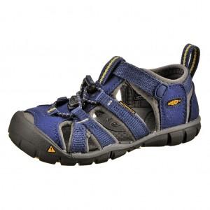 Dětská obuv KEEN Seacamp   /blue depths/gargoyle -  Sandály