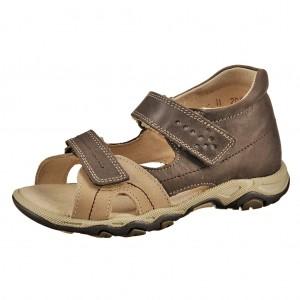 Dětská obuv Sandály Santé 950/803 /hnědé -  Na doma a do škol(k)y