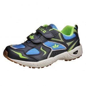 Dětská obuv LICO BOB V    /blau/marine/lemon - Boty a dětská obuv
