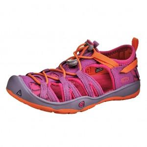Dětská obuv KEEN Moxie sandal   purple wine/nasturtium -  Sandály