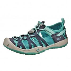 Dětská obuv KEEN Moxie sandal   dress blues/viridian - Boty a dětská obuv