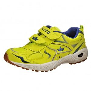 Dětská obuv LICO BOB V    /lemon/blau - Boty a dětská obuv