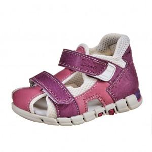 Dětská obuv Sandálky Santé 810/401 /fialovo/růžová *** -  Sandály