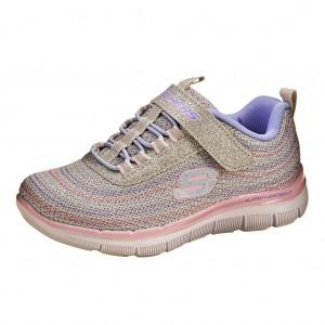 Dětská obuv Skechers 81658 /light gray - Boty a dětská obuv