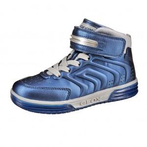 Dětská obuv GEOX J Argonat B   /navy/silver - Boty a dětská obuv