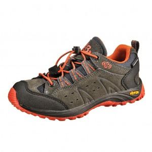 Dětská obuv Brütting Mount Bona Low /anth./orange - Boty a dětská obuv