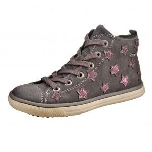 Dětská obuv Lurchi Starlet-tex  /charcoal/burgundy -  Celoroční