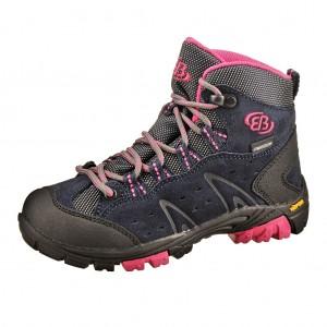 Dětská obuv Brütting Mount Bona High   /marine/pink - Boty a dětská obuv