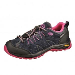 Dětská obuv Brütting Mount Bona Low /marine/pink - Boty a dětská obuv