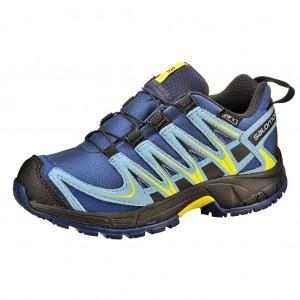 Dětská obuv Salomon XA Pro 3D   /blue - Boty a dětská obuv