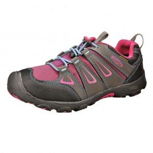 Dětská obuv KEEN Oakridge low WP  /magnet/very berry -  Do hor nebo nížin