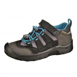 Dětská obuv KEEN Hikeport WP  /black/blue jewel -  Celoroční