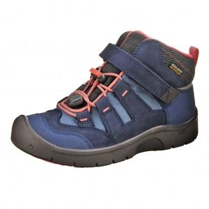 Dětská obuv KEEN Hikeport MID WP  /dress blues/sugar coral - Boty a dětská obuv