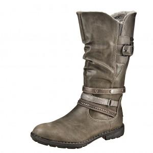 Dětská obuv s'Oliver kozačky 46416 /grey - Boty a dětská obuv