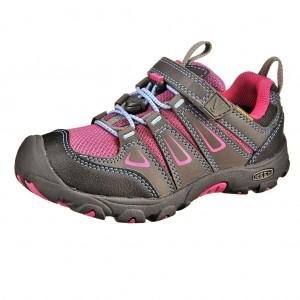 Dětská obuv KEEN Oakridge low WP  /magnet/very berry -  Celoroční