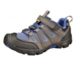 Dětská obuv KEEN Oakridge low WP  /magnet/true blue -  Do hor nebo nížin