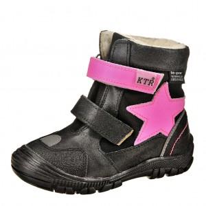 Dětská obuv KTR 315/1/N2   /černá/růžová - Boty a dětská obuv