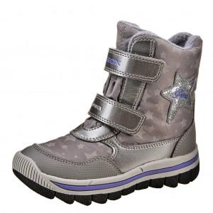 Dětská obuv GEOX J Overl /silver/violet - X...SLEVY  SLEVY  SLEVY...X