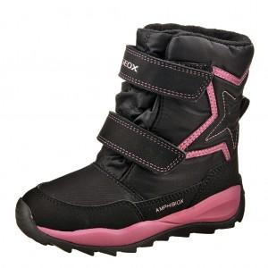 Dětská obuv GEOX J Orizont G.   /black -  Zimní