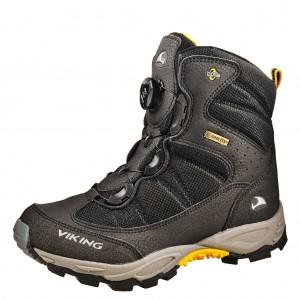 Dětská obuv VIKING Boulder BOA GTX   /Black/silver - Boty a dětská obuv