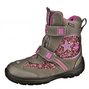 Dětská obuv LICO Sparkler V blinky /grau/pink - Boty a dětská obuv