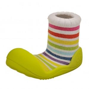 Dětská obuv Attipas Rainbow Green - Oblečení