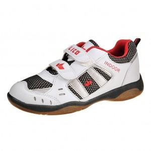 Dětská obuv LICO Indoor V   weiss/marine/rot - Boty a dětská obuv