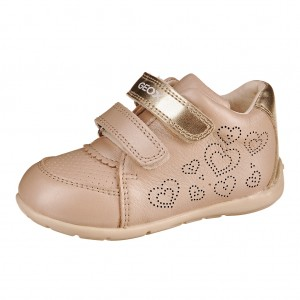 Dětská obuv GEOX B Kaytan   /beige/gold - X...SLEVY  SLEVY  SLEVY...X