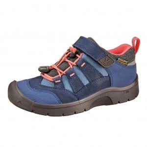 Dětská obuv KEEN Hikeport WP  /dress blues/sugar coral - Boty a dětská obuv