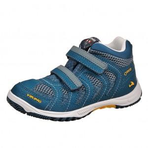 Dětská obuv VIKING Cascade II MID GTX   /petrol/sun - Boty a dětská obuv