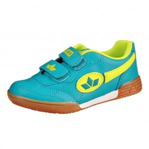 Dětská obuv LICO Bernie V   /petrol/lemon - Boty a dětská obuv