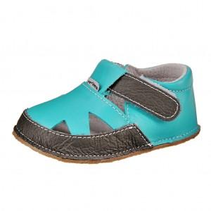 Dětská obuv Pegres 1096   /modré *BF -  Na doma a do škol(k)y