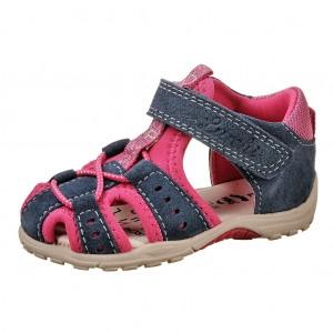 Dětská obuv Lurchi MAXY  /jeans dk.pink - Boty a dětská obuv