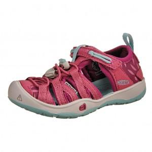 Dětská obuv KEEN Moxie sandal  red violet/pastel tirguoise - Boty a dětská obuv