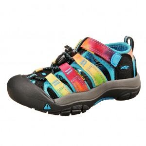 Dětská obuv KEEN Newport H2 /rainbow tie dye -  Sandály